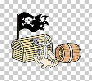 Piracy Cartoon Buried Treasure PNG