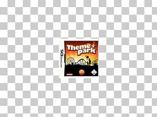 Theme Park Nintendo DS Logo Text Font PNG