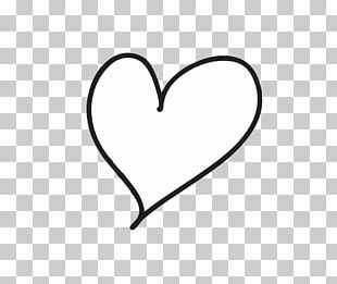 Heart Drawing Line PNG