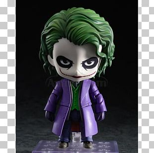 Joker Batman Action & Toy Figures Nendoroid Villain PNG