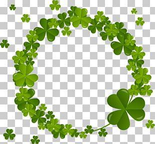 Ireland Four-leaf Clover Shamrock Saint Patricks Day PNG