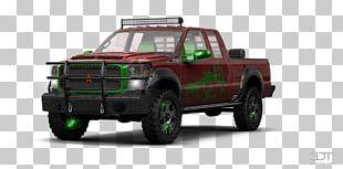 Tire Car Pickup Truck Bumper Truck Bed Part PNG