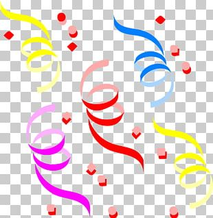 Confetti Party New Year PNG