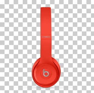 Beats Solo3 Beats Electronics Headphones Product Red Apple PNG