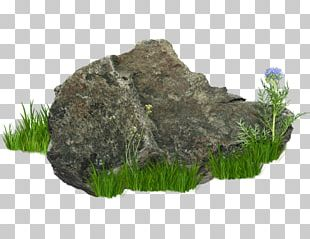 Png Graphics Stone Grass PNG