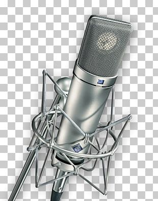 Microphone Georg Neumann Recording Studio Shock Mount Audio PNG