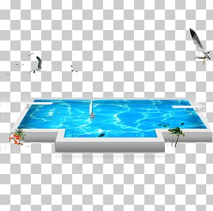 Swimming Pool Poster PNG