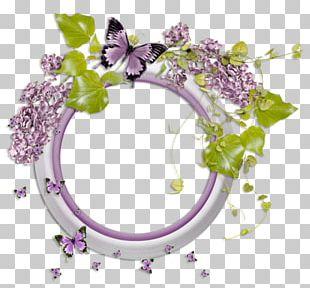 Floral Design Frames PNG