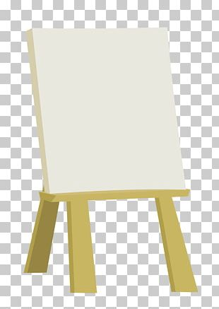 Table Easel Furniture Wood Chair PNG