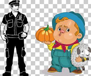 Cartoon Character Illustration PNG