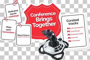 Game Developers Conference Video Game Development Joystick India Video Game Developer PNG