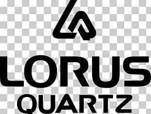 Quartz Clock Lorus Watch Logo PNG