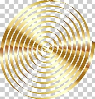 Spiral Gold Whirlpool Maelstrom PNG