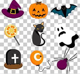 Halloween Label Euclidean Scrapbooking PNG