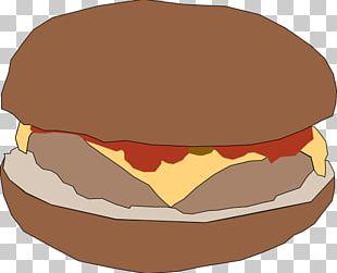 Hamburger Cheeseburger Fast Food French Fries Hot Dog PNG
