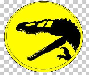 Mr. D.N.A. Jurassic Park Dinosaur Spinosaurus Smiley PNG