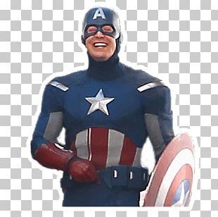 Captain America Figurine PNG