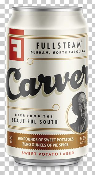 Fullsteam Brewery Beer Lager Alcoholic Drink Cackalacky Classic Condiment PNG