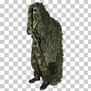 Ghillie Suits Military Camouflage Hunting Sniper Equipment PNG