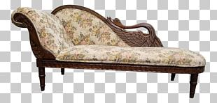 Chaise Longue Chair Fainting Couch Swan PNG