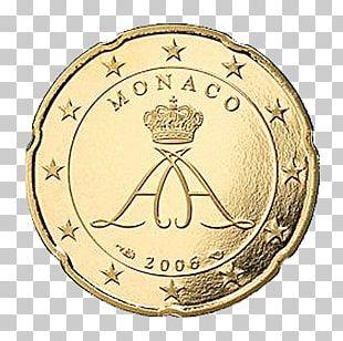 Monégasque Euro Coins 20 Cent Euro Coin 1 Cent Euro Coin 10 Euro Cent Coin PNG