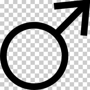 Gender Symbol Male Sign PNG