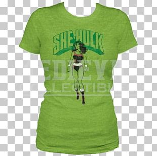 She-Hulk T-shirt Marvel Comics Clothing PNG