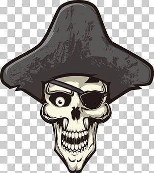 Skull Calavera Piracy Euclidean PNG