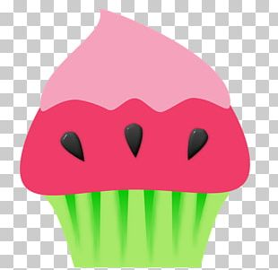 Cupcake Muffin Frosting & Icing Watermelon PNG