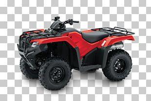 Honda TRX 420 All-terrain Vehicle Motorcycle TRX 420 Fourtrax PNG