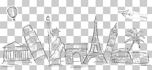 Statue Of Liberty Eiffel Tower Leaning Tower Of Pisa PNG