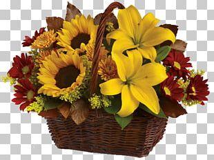 Floristry Flower Delivery Basket Teleflora PNG