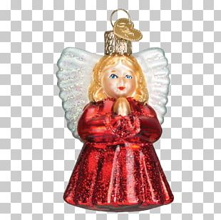 Angel Christmas Ornament Infant Child PNG