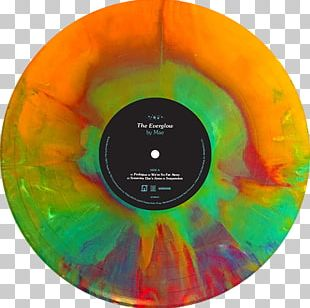 Compact Disc Phonograph Record The Everglow Mae Album PNG