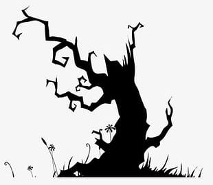 Ghost Tree PNG