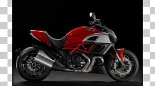 Fuel Injection Ducati Diavel Motorcycle Sport Bike PNG