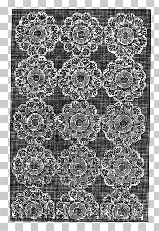 Monochrome Photography Doily Visual Arts PNG