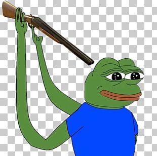 Pepe The Frog Gun Meme Weapon PNG