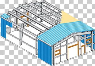 Steel Building Architectural Engineering Pre-engineered Building Metal Roof PNG