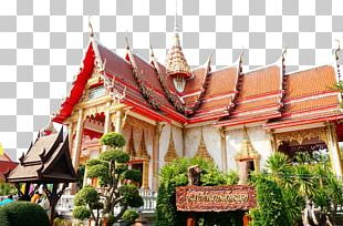 Wat Chalong Bangkok Laos Andaman Sea Tourism PNG