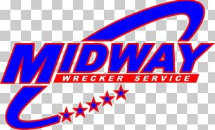 Midway Wrecker Service Roadside Assistance Tow Truck Towing Brand PNG