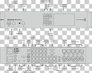 Wiring Diagram Blackmagic Design Blackmagic UltraStudio 4K Extreme BDLKULSR4KEXTR3 4K Resolution Thunderbolt PNG
