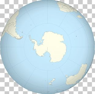 Antarctica Earth Globe World Map PNG