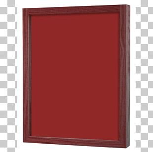 Rectangle Wood Stain Frames PNG