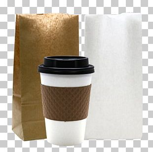 Coffee Cup Sleeve Cafe Paper Cup PNG