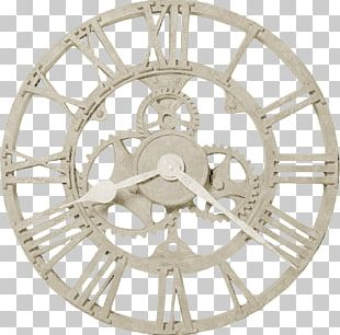 Clock Steampunk Gear Wall Movement PNG