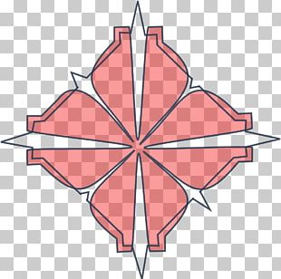 Maple Leaf Line Point Angle PNG