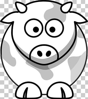 Beef Cattle Drawing Cartoon PNG