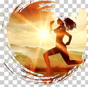 Running Sports Bra Pedometer Jogging PNG