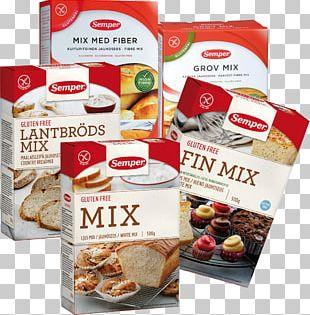 Semper Brödmix Fin Glutenfri Food Flour Gluten-free Diet PNG